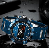 Luxury LED Digital Quartz Mens Watches  Man Sport Watch Waterproof Wristwatch