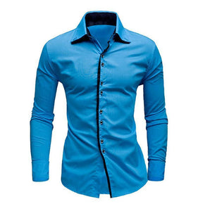 New Fashional Stylish Slim Fit Party Wear shirt men long sleeve set 3 pcs