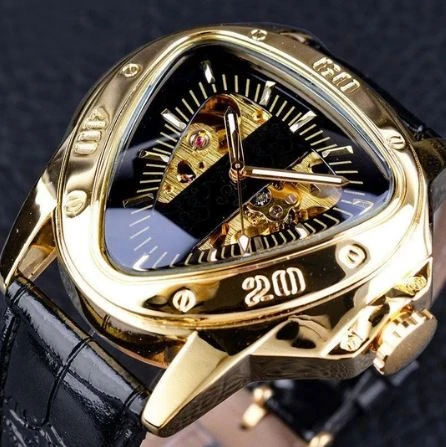 Triangle Mechanical Hand Wind Watches