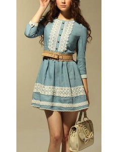 LACED DOLL DRESS