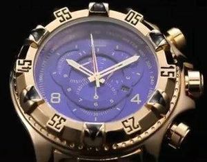 MEN'S WATCHES LUXURY GOLD WATCH MEN BIG DIAL QUARTZ WATCH