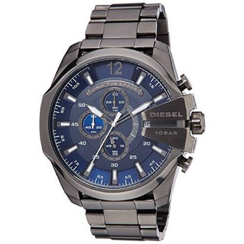 Mega Chief chronograph stainless steel watch