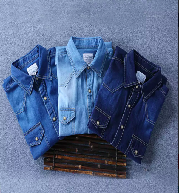 Pack of 3 Denim Shirts
