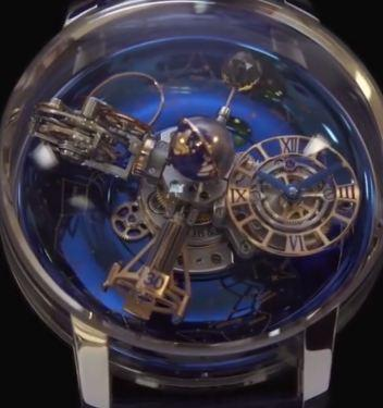 Unique Collection Blue Crystal Luxury Analog Watches