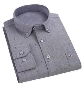 Pack of 3 Brand Fashionable Men's Business casual Stylish Shirts for Men