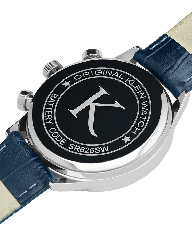 Analog watch - SILVER / BLUE