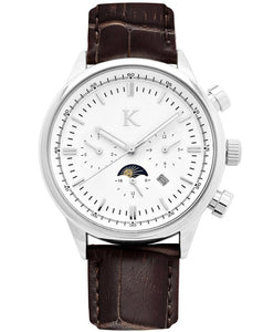 Analog watch - SILVER / WHITE