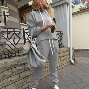 Women Long Sleeve Pullover Jackets And Pants