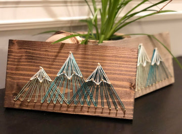String Art 3 Peak - Brown