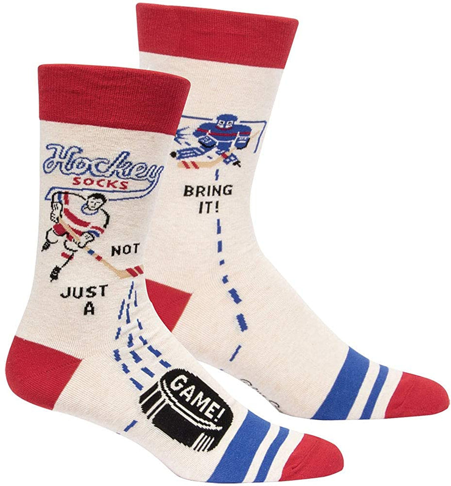 Men's Hockey... Not Just A Game Crew Socks