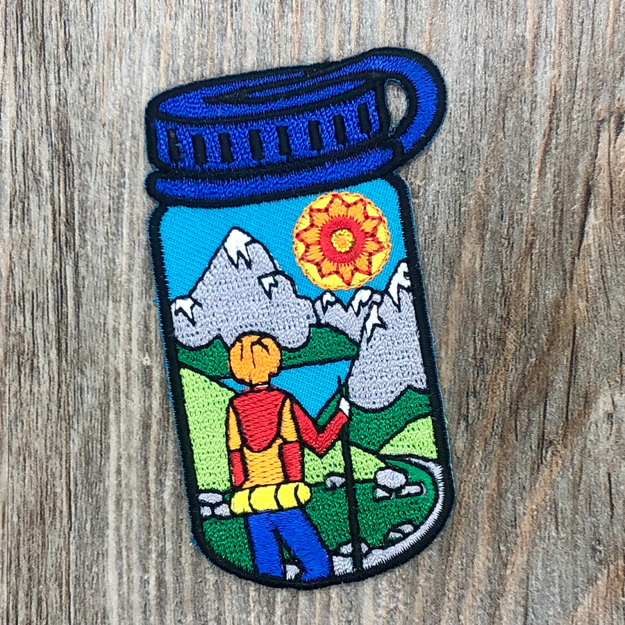 Hiking Water Bottle Patch