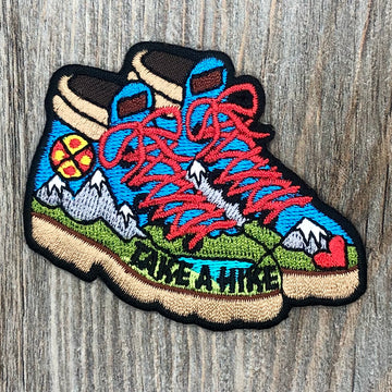 Hiking Boots Patch