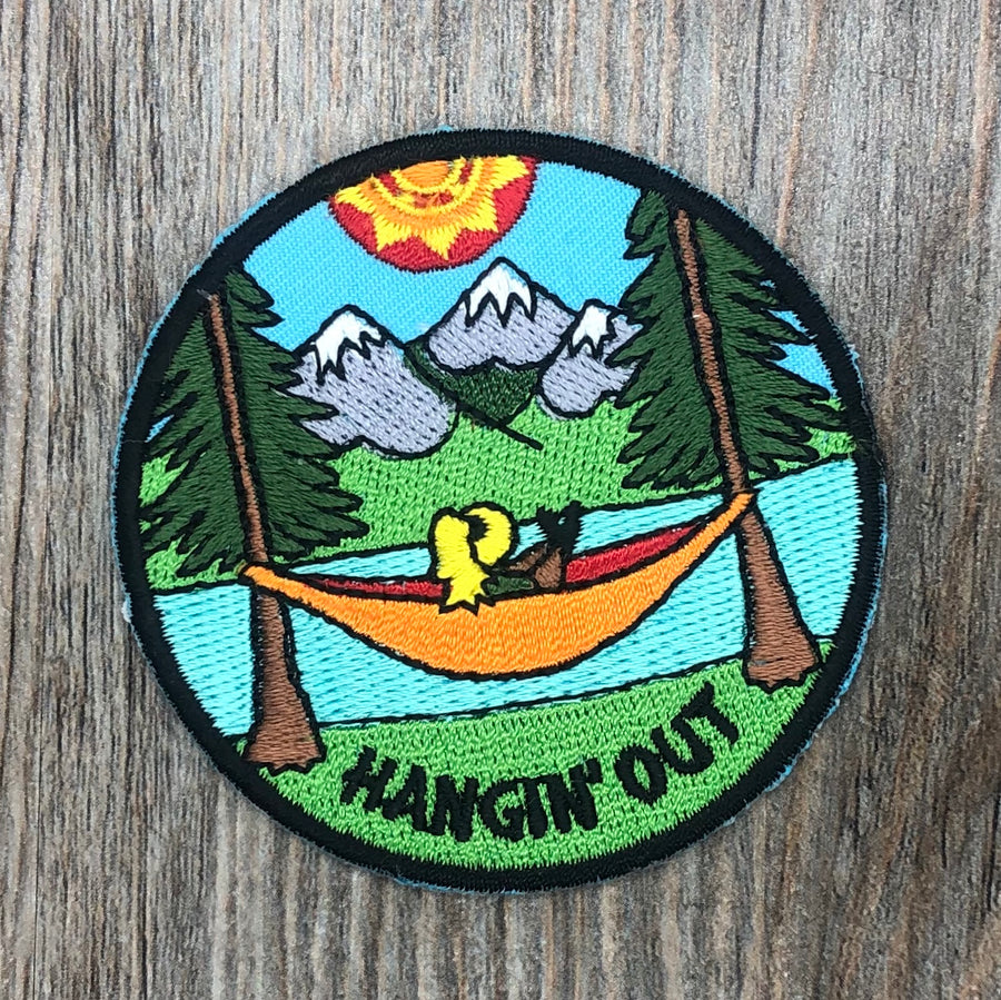 Hanging Out Patch