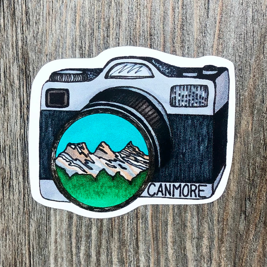 Canmore Camera Sticker