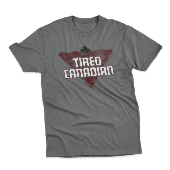 Men's Tired Canadian Short Sleeve Tee