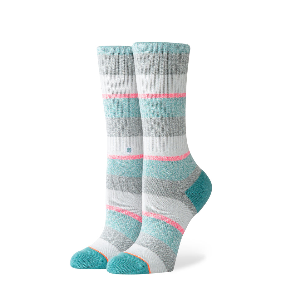 Women's All That Crew Sock - Grey S