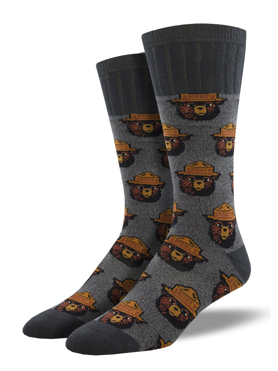 Men's Smokey Bear Crew Sock