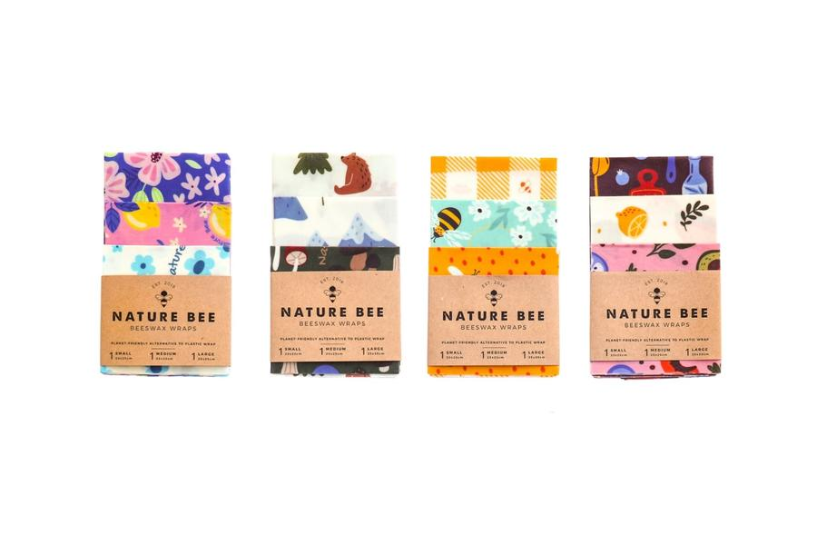 Beeswax Wraps - Variety Pack