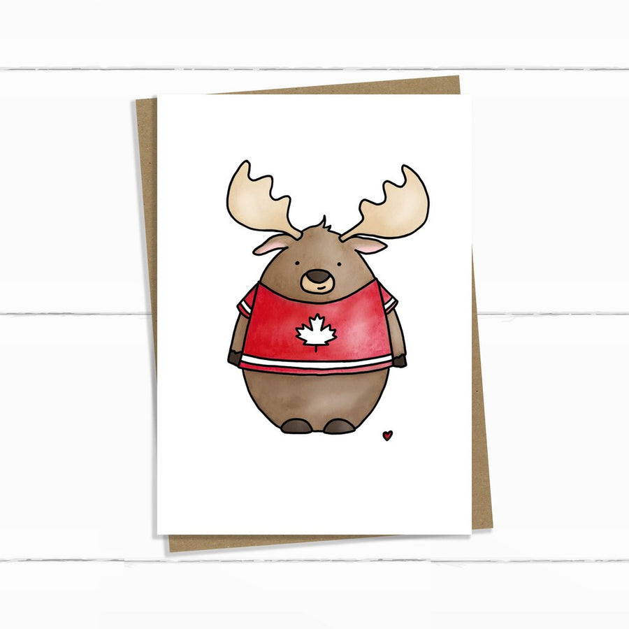 Canadian Moose Card
