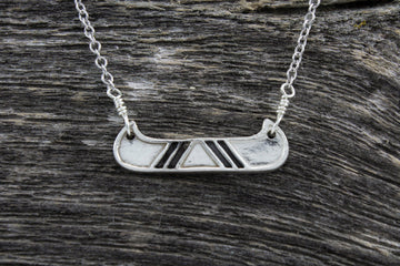 Mackenzie Jones Canoe Necklace