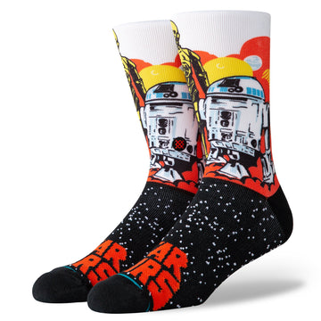 Star Wars Droids Sock - Orange L
