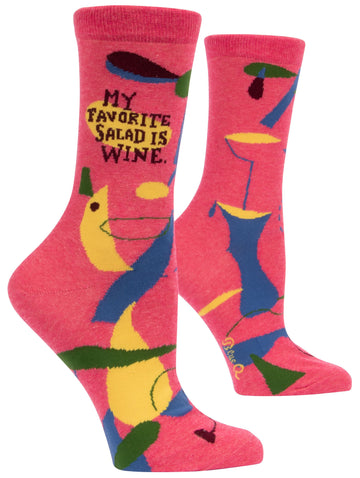 Women's My Favourite Salad Crew Sock