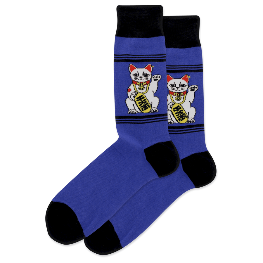Men's Originals Lucky Fortune Cat Sock