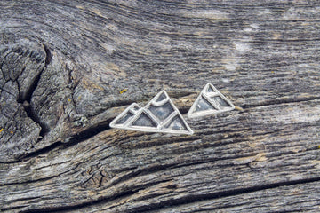 Mackenzie Jones - Mountain Stud Earrings