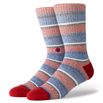 Butter Blend Noosa Sock - Red L