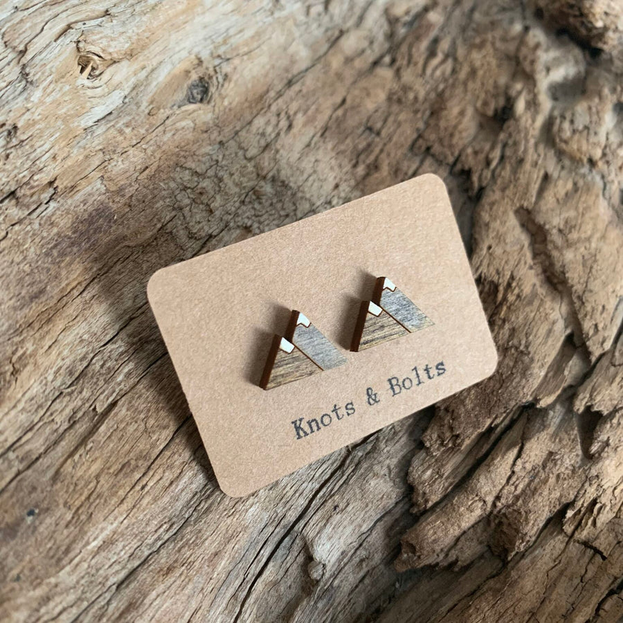 Stud Earrings - Peaks