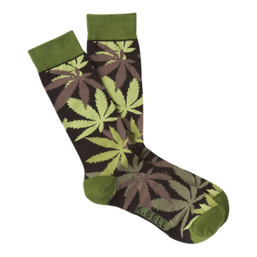 Men's Fashion Sock Pot Luck - Green
