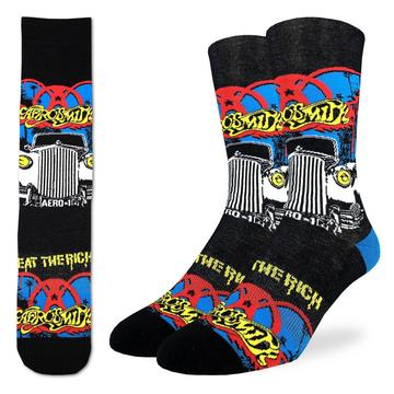 Aerosmith Eat The Rich Active Fit Socks