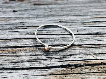 Mackenzie Jones - Rose Gold Moon Ring