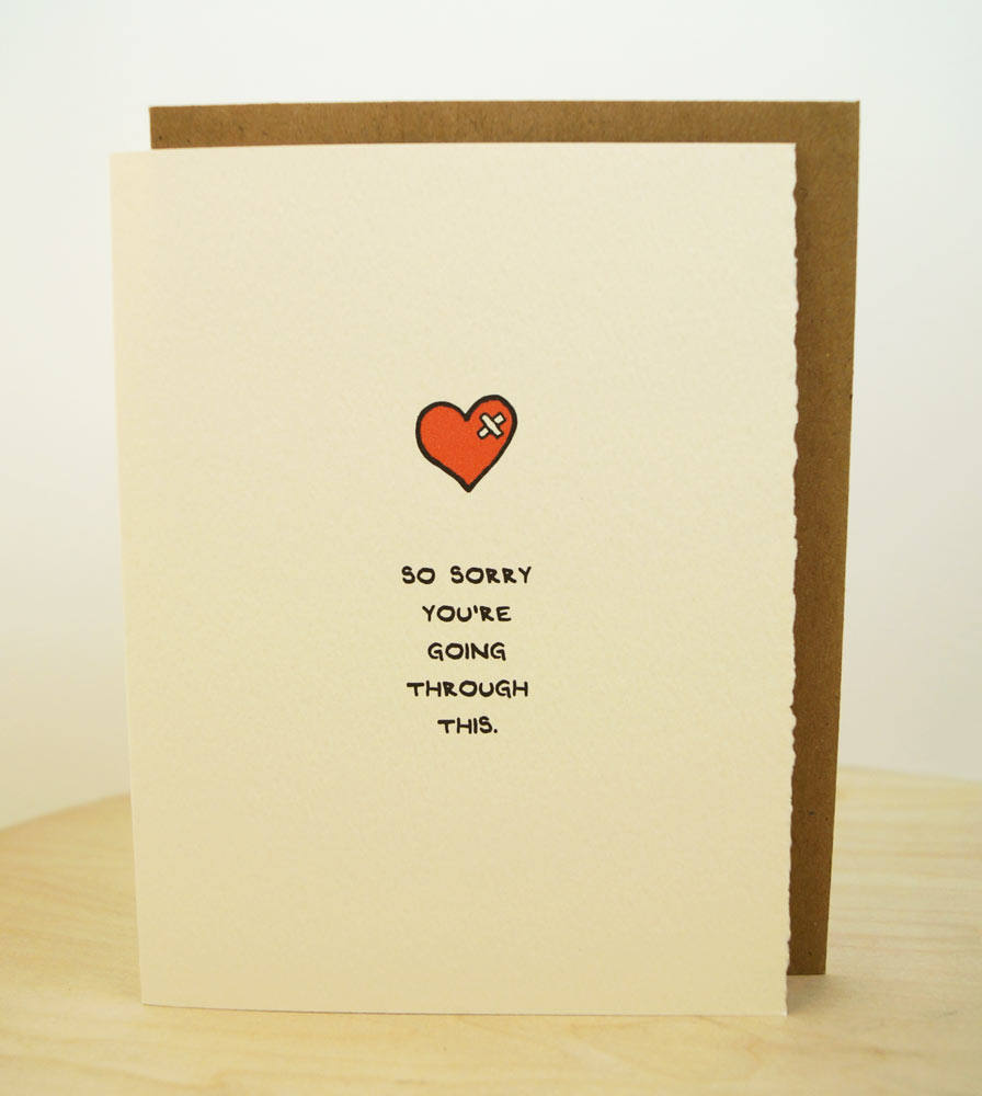So Sorry Youre Going Thru This Card