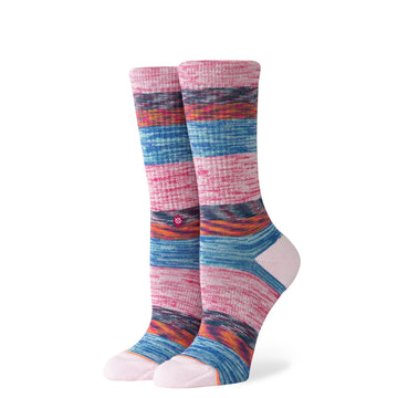 Women's Space Haze Sock - Lilac Ice M