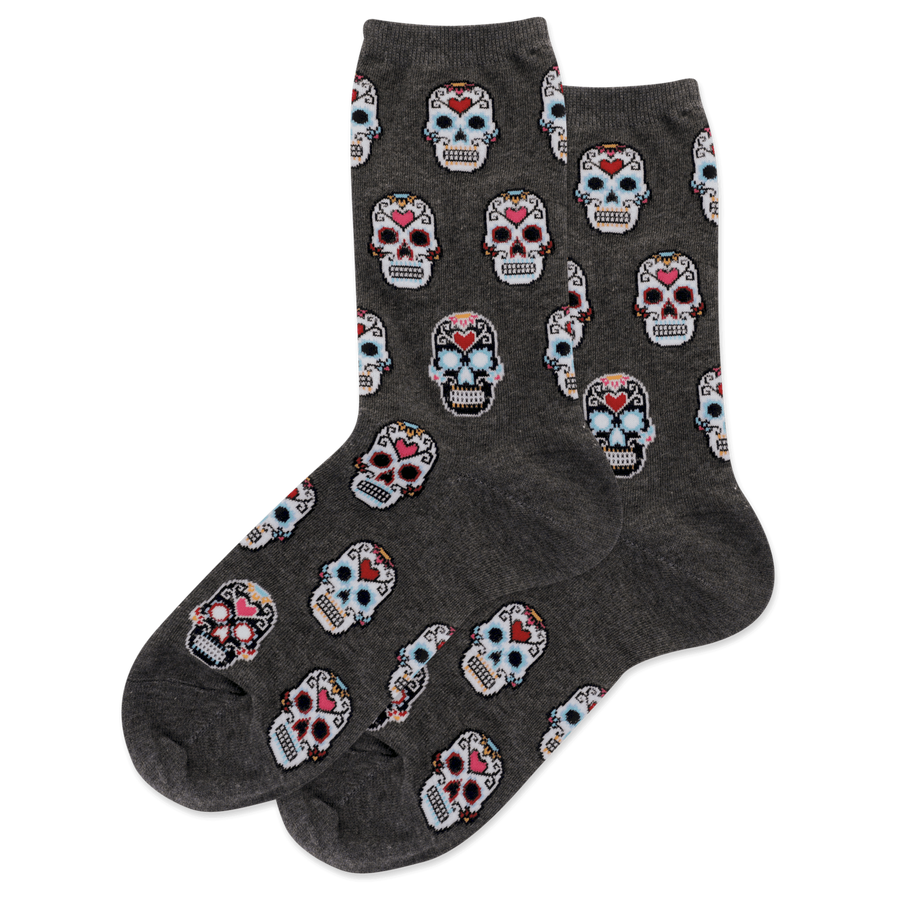 Ladies' Originals Sugar Skulls Sock