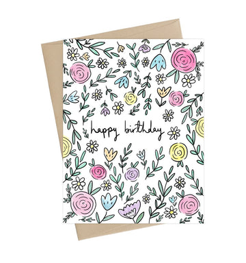 Summer Flowers Card