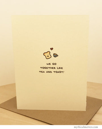 Tea & Toast Card