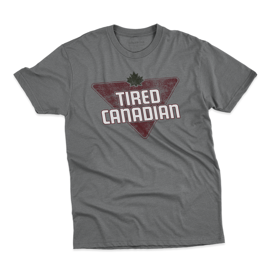 Men's Tired Canadian Tee