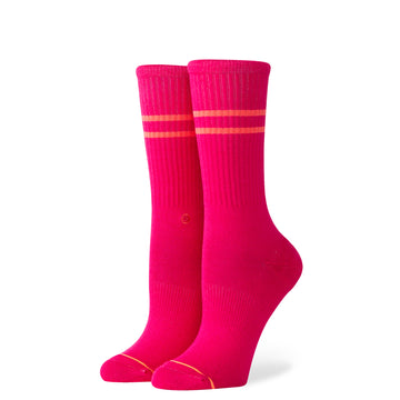 Women's Vitality Sock - Fuschia M