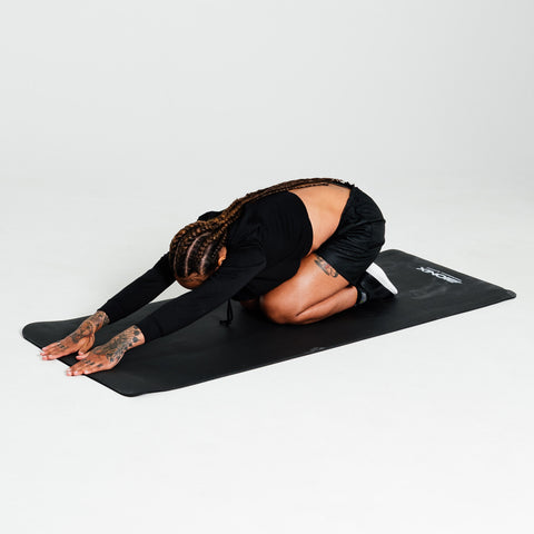 Bionix Black 10mm NBR Yoga Mat