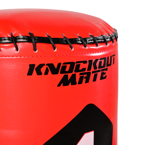 Gallant Sport 5.5ft Red Free-Standing Punchbag with Target