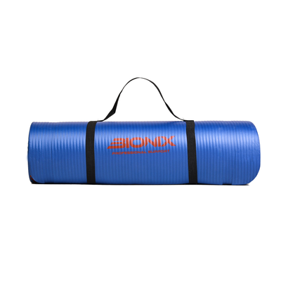 Bionix Navy 10mm NBR Yoga Mat