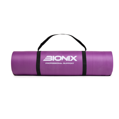 Bionix Purple 10mm NBR Yoga Mat