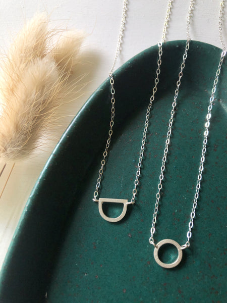 The Callie Necklace- Sterling Silver