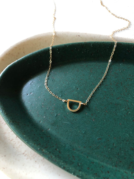 The Callie Necklace- 14k Gold