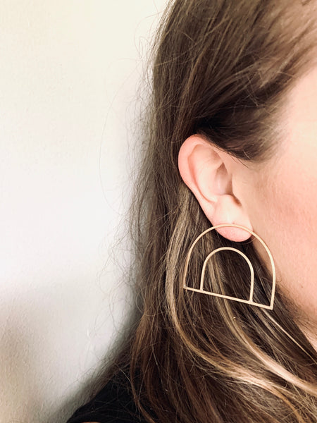 The Lola Earring- Sterling Silver