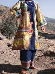 Multicolor Cambric 2 Piece Unstitched - AWP-237