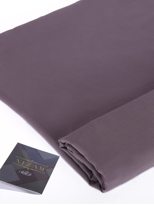Grey Blended Unstitched - AL-Nizam-19