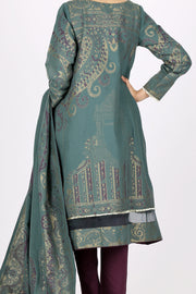 Green 3 Piece Stitched - ALP-3PS-581